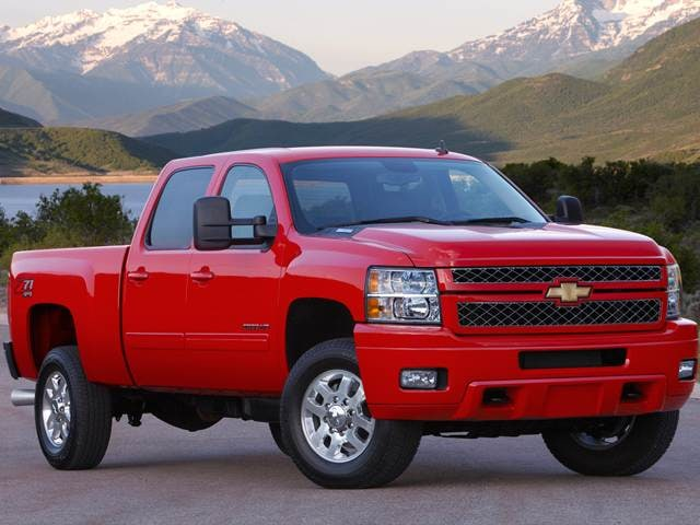 Most Popular Trucks of 2014 - 2014 Chevrolet Silverado 2500 HD Crew Cab