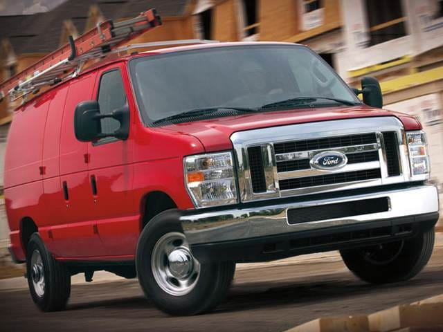 Most Popular Vans/Minivans of 2014 - 2014 Ford E350 Super Duty Cargo