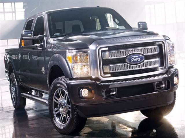 Top Consumer Rated Trucks of 2014 - 2014 Ford F250 Super Duty Crew Cab