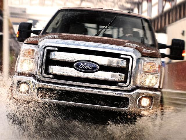 Highest Horsepower Trucks of 2014 - 2014 Ford F350 Super Duty Regular Cab