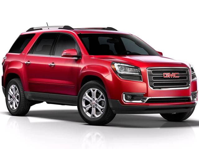 Best Safety Rated Crossovers of 2014 - 2014 GMC Acadia