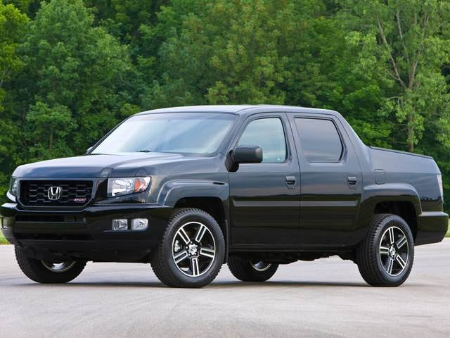 Most Popular Trucks of 2014 - 2014 Honda Ridgeline