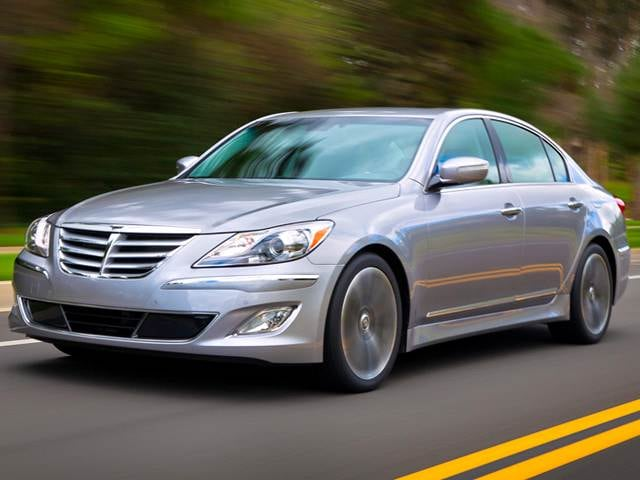 Most Popular Sedans of 2014 - 2014 Hyundai Genesis
