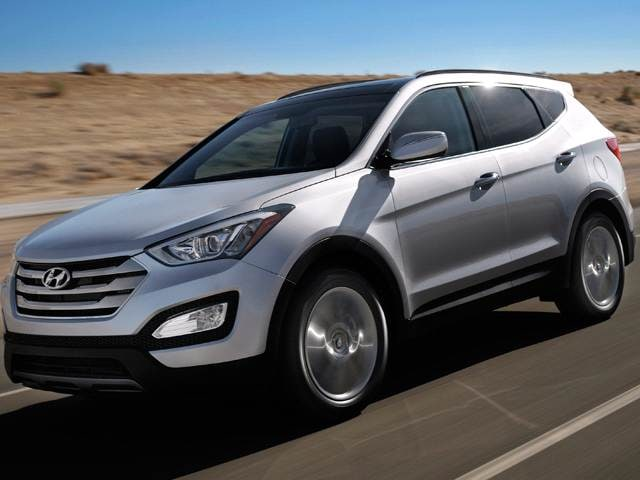 Best Safety Rated SUVs of 2014 - 2014 Hyundai Santa Fe Sport