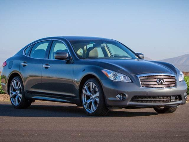 Best Safety Rated Luxury Vehicles of 2014 - 2014 Infiniti Q70