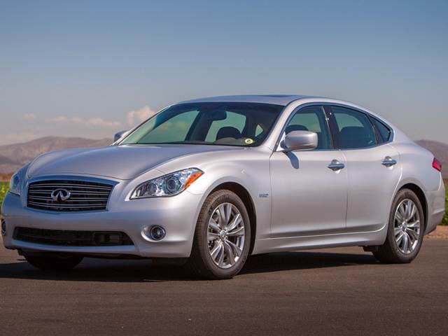Best Safety Rated Hybrids of 2014 - 2014 INFINITI Q70