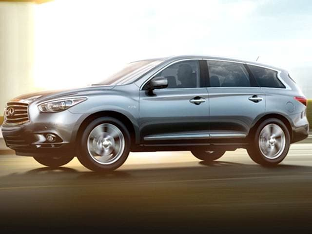 Best Safety Rated Hybrids of 2014 - 2014 INFINITI QX60