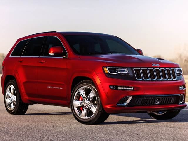 Highest Horsepower SUVs of 2014 - 2014 Jeep Grand Cherokee