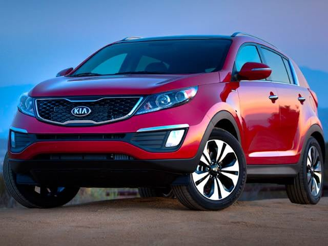 Best Safety Rated SUVs of 2014 - 2014 Kia Sportage