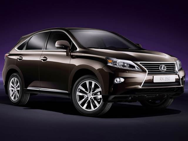 Best Safety Rated Luxury Vehicles of 2014 - 2014 Lexus RX