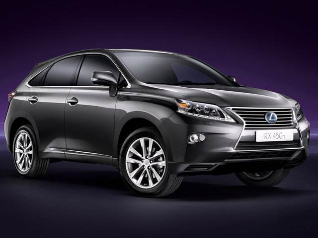 Best Safety Rated Hybrids of 2014 - 2014 Lexus RX