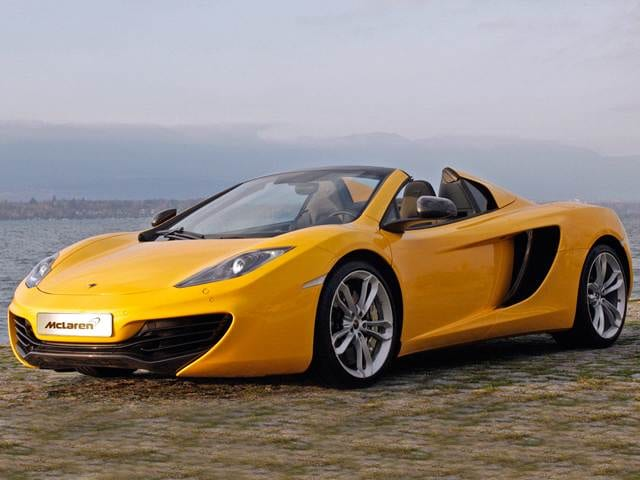 Top Consumer Rated Convertibles of 2014 - 2014 McLaren MP4-12C