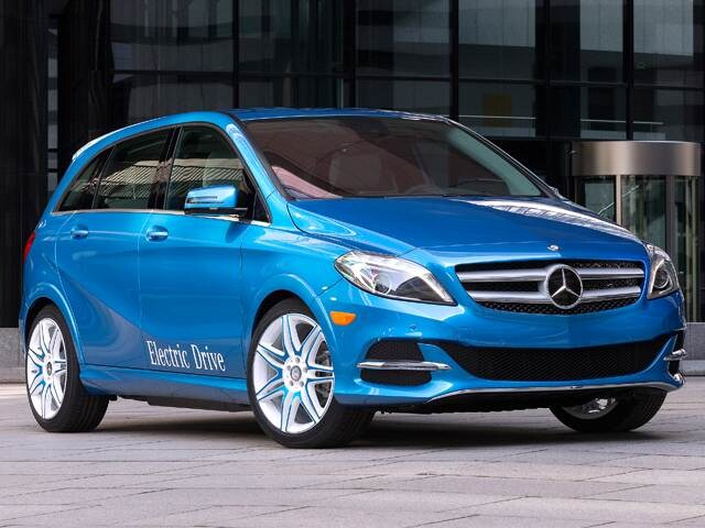 Most Fuel Efficient Electric Cars of 2014 - 2014 Mercedes-Benz B-Class