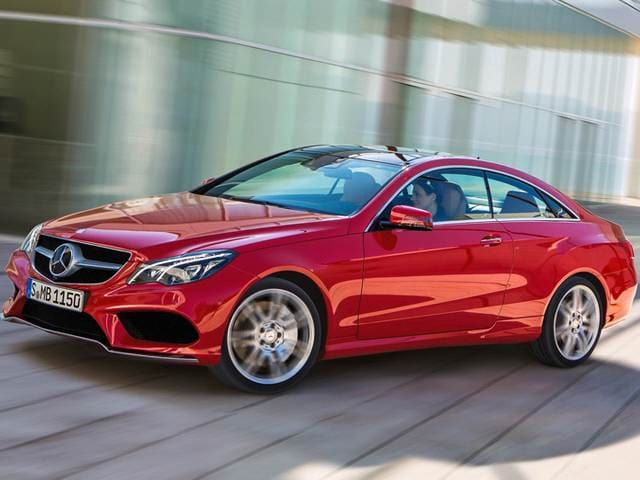 Most Popular Coupes of 2014 - 2014 Mercedes-Benz E-Class