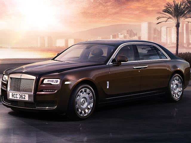 Highest Horsepower Sedans of 2014 - 2014 Rolls-Royce Ghost
