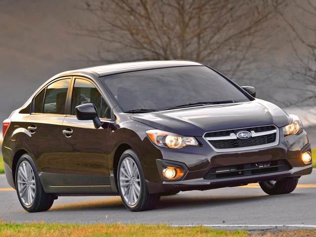 Best Safety Rated Sedans of 2014 - 2014 Subaru Impreza