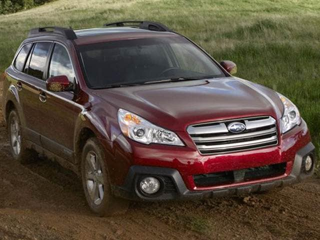 Best Safety Rated Crossovers of 2014 - 2014 Subaru Outback