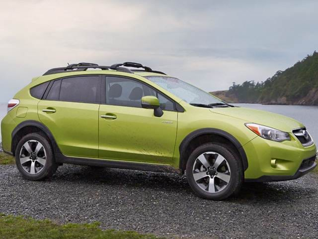 Most Fuel Efficient SUVs of 2014 - 2014 Subaru XV Crosstrek