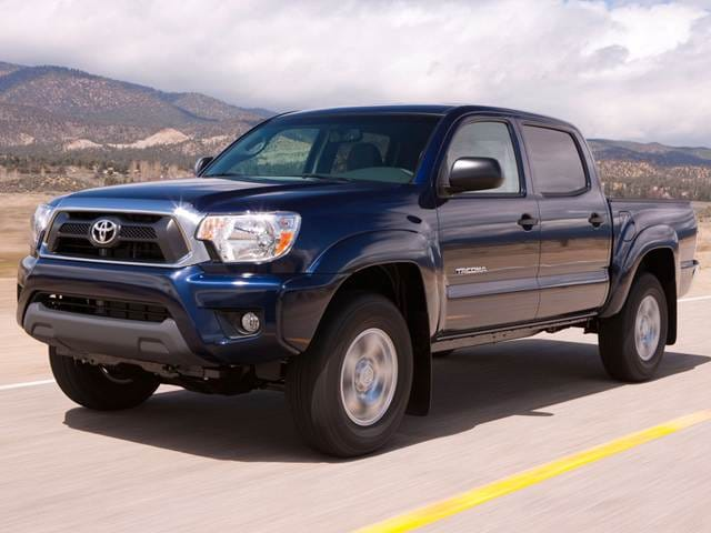 Most Popular Trucks of 2014 - 2014 Toyota Tacoma Double Cab