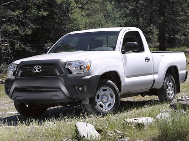 Most Fuel Efficient Trucks of 2014 - 2014 Toyota Tacoma Regular Cab