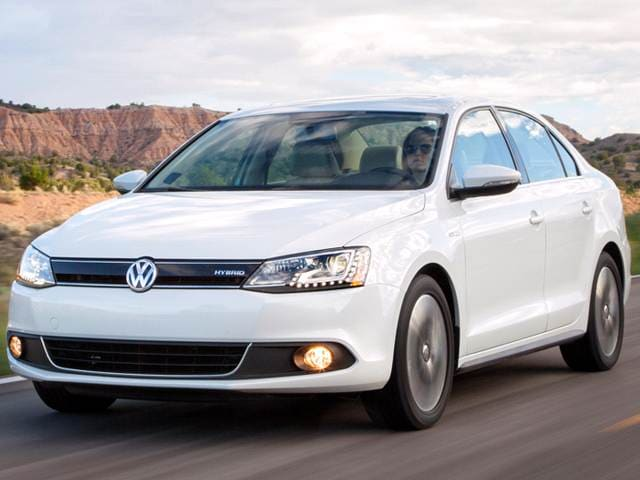 Most Popular Hybrids of 2014 - 2014 Volkswagen Jetta