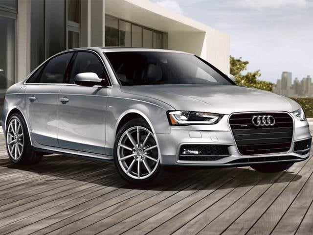 Most Popular Luxury Vehicles of 2015 - 2015 Audi A4