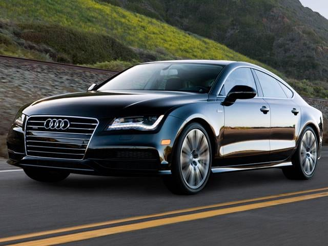 Top Consumer Rated Sedans of 2015 - 2015 Audi A7