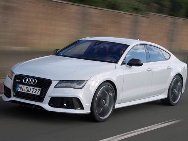 Highest Horsepower Sedans of 2015 - 2015 Audi RS 7