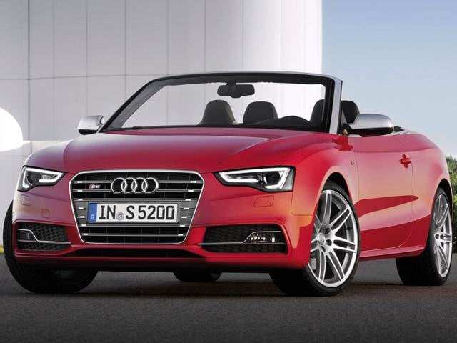 Top Consumer Rated Convertibles of 2015 - 2015 Audi S5