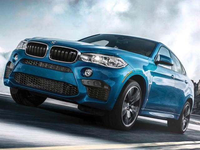 Highest Horsepower Crossovers of 2015 - 2015 BMW X6 M