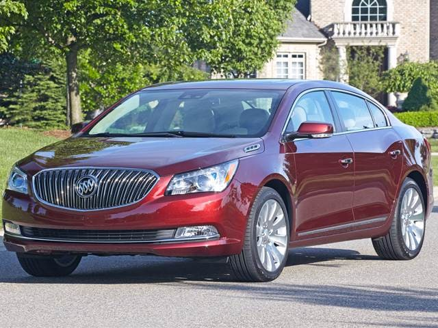 Best Safety Rated Sedans of 2015 - 2015 Buick LaCrosse