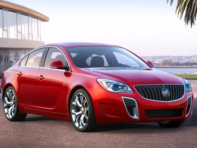Best Safety Rated Sedans of 2015 - 2015 Buick Regal