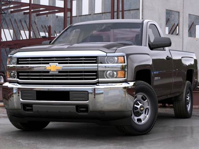 Top Consumer Rated Trucks of 2015 - 2015 Chevrolet Silverado 2500 HD Regular Cab