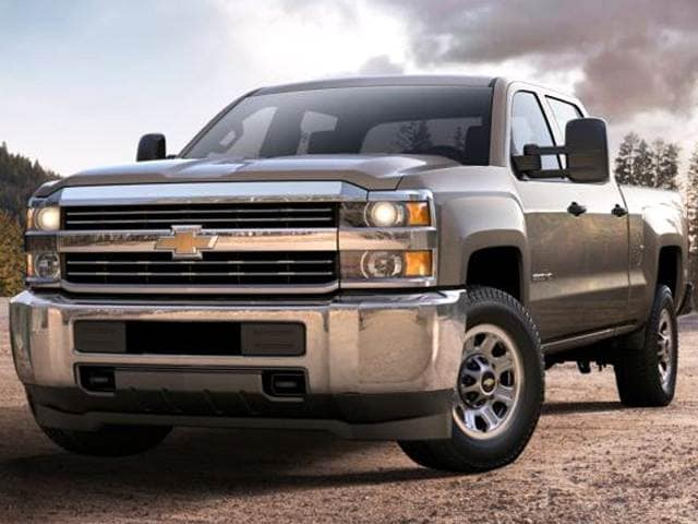 Highest Horsepower Trucks of 2015 - 2015 Chevrolet Silverado 3500 HD Crew Cab