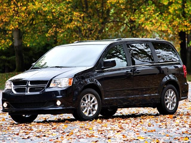 Best Safety Rated Vans/Minivans of 2015 - 2015 Dodge Grand Caravan Passenger