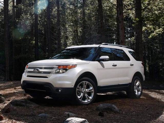 Best Safety Rated SUVs of 2015 - 2015 Ford Explorer