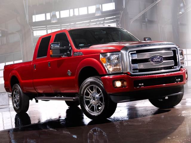 Highest Horsepower Trucks of 2015 - 2015 Ford F350 Super Duty Crew Cab