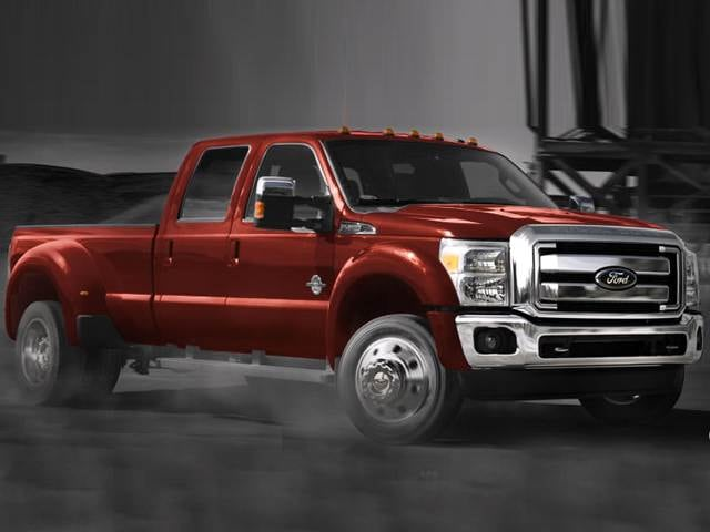 Top Consumer Rated Trucks of 2015 - 2015 Ford F450 Super Duty Crew Cab