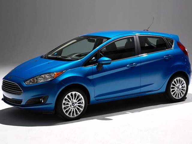 Most Popular Hatchbacks of 2015 - 2015 Ford Fiesta