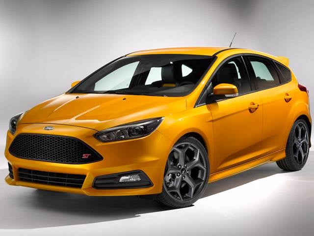 Top Expert Rated Hatchbacks of 2015 - 2015 Ford Focus ST