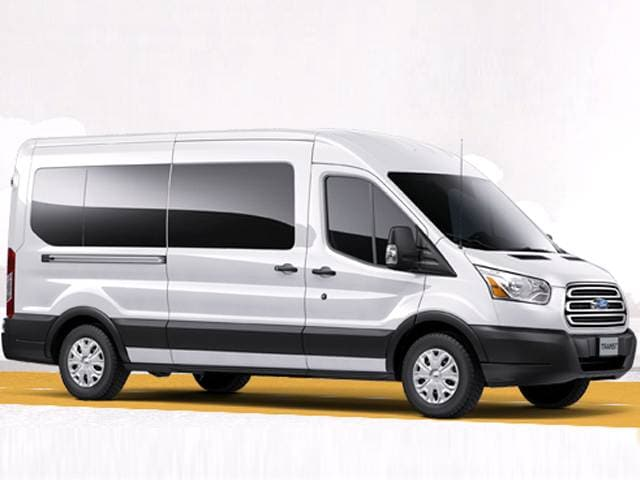 Best Safety Rated Vans/Minivans of 2015 - 2015 Ford Transit 150 Wagon