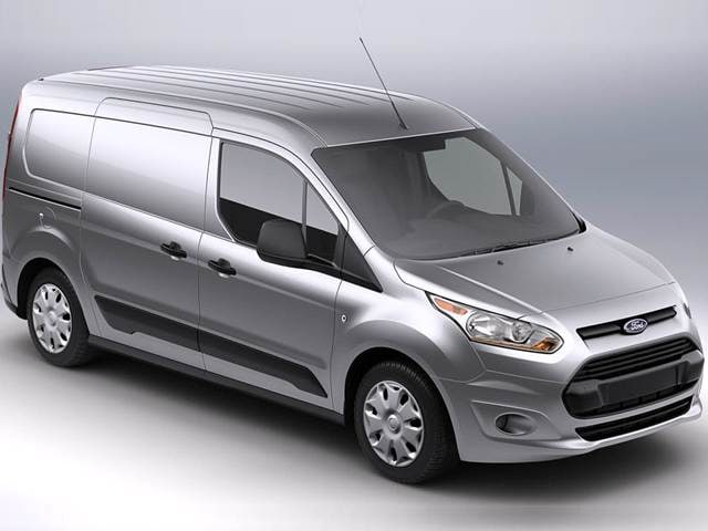 Most Fuel Efficient Vans/Minivans of 2015 - 2015 Ford Transit Connect Cargo