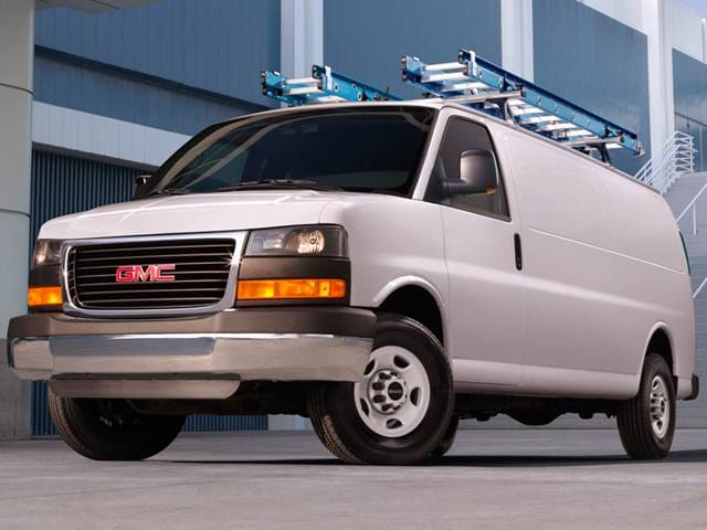 Most Popular Vans/Minivans of 2015 - 2015 GMC Savana 2500 Cargo