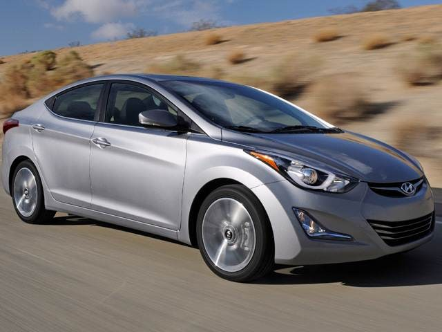 Most Popular Sedans of 2015 - 2015 Hyundai Elantra
