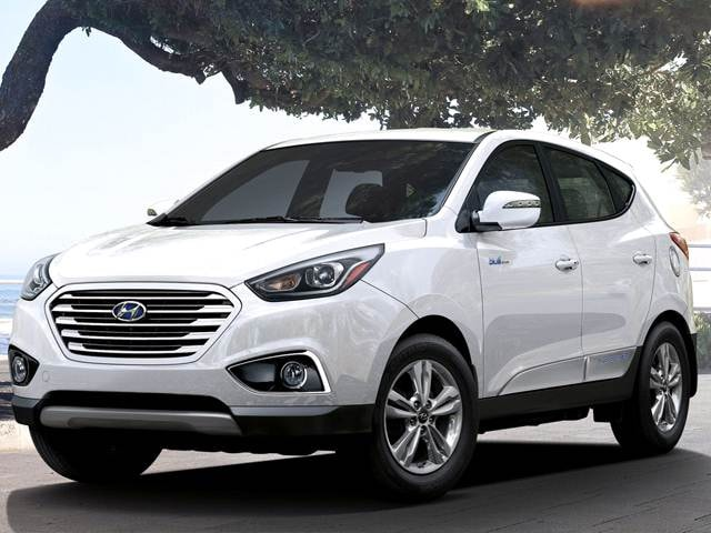 Most Fuel Efficient Crossovers of 2015 - 2015 Hyundai Tucson Fuel Cell