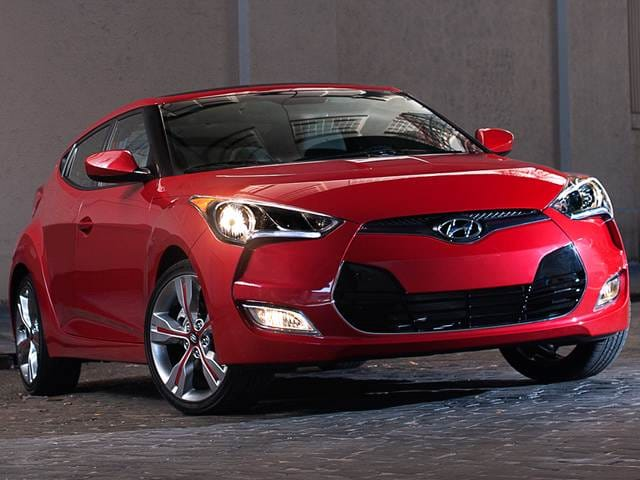Most Fuel Efficient Coupes of 2015 - 2015 Hyundai Veloster