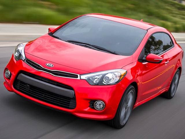 Top Expert Rated Coupes of 2015 - 2015 Kia Forte Koup