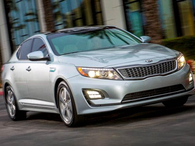 Best Safety Rated Hybrids of 2015 - 2015 Kia Optima Hybrid