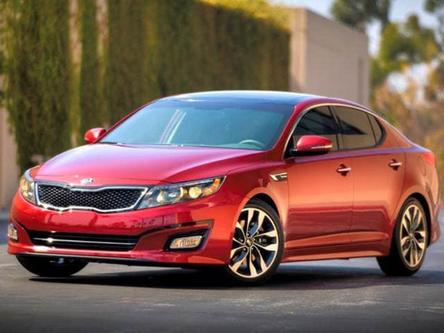 Most Popular Sedans of 2015 - 2015 Kia Optima