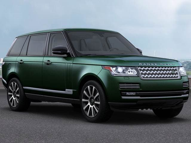 Highest Horsepower SUVs of 2015 - 2015 Land Rover Range Rover